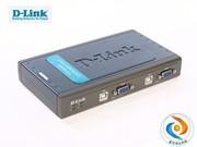 包邮 DLINK DKVM-42U--4口桌面型,USB接口,送2组1.2米USB  KVM线,厂家售后(促销时间购买,再送KVM线缆2根)