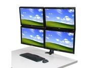 TOPSKYS TI734锁孔式旋转升降四屏悬臂显示器支架