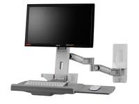 TOPSKYS OEW20显示器支架医用显示器挂架麻醉机床数控一体机电脑工作台壁挂架