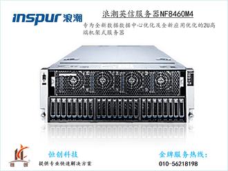 浪潮 英信 NF8460M4(Xeon E7-4820 v4*2/16GB*4/1.2TB*4)【官方授权 品质保障】