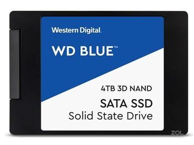 西部数据 WD SATA3.0 SSD(4TB)