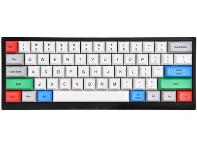 沃特概尔 Tab60有线蓝牙双模机械键盘