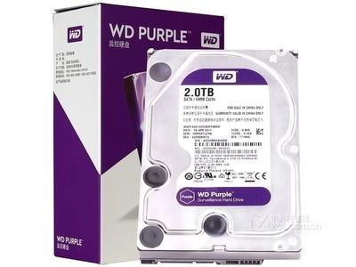 西部数据 紫盘8TB/5400转/256MB(WD81EJRX)