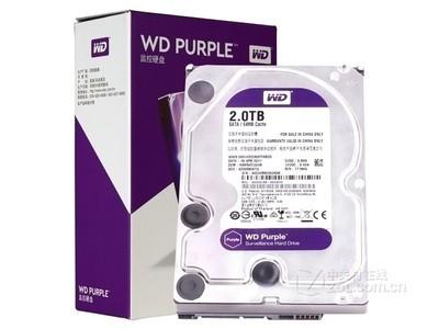 西部数据 紫盘2TB/5400转/64MB(WD20EJRX)