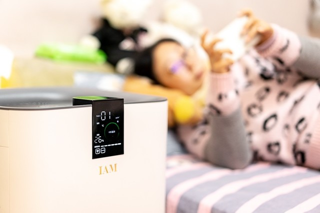 如何选择空气净化器—IAM KJ780F【开箱】